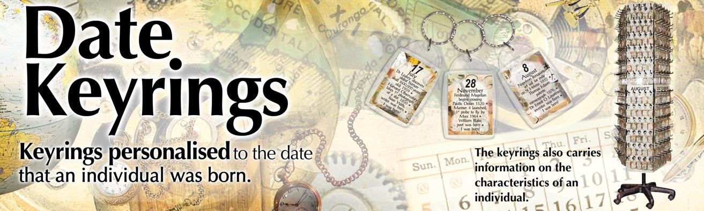 Date Keyrings