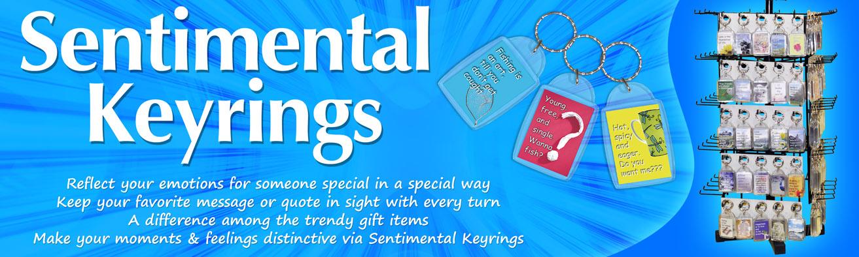 Sentimental Keyrings